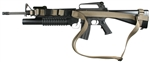 M-16 / AR-15 With Side Front Swivel SOP 3 Point Sling
