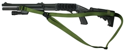 Remington 870 With M-4 Stock CQB 3 Point Tactical Sling