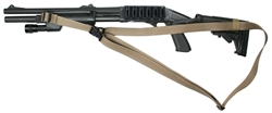 Mossberg 590 With M-4 Stock CQB 3 Point Tactical Sling