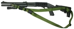Remington 870 With M-4 Stock SOP 3 Point Tactical Sling