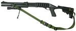 Remington 870 With M-4 Stock Raider 2 Point Tactical Sling