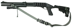 Mossberg 590 With M-4 Stock Raider 2 Point Tactical Sling