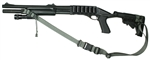 Mossberg 500 With M-4 Stock Raider 2 Point Tactical Sling