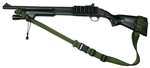 "Mossberg 590 With Hogue 12"" LOP Stock Raider 2 Point Tactical Sling"