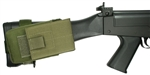 FN FAL Buttstock Magazine Pouch, Holds (1) 20 round 7.62 x 51mm Magazine, Rear Adapter Provided