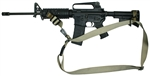 M-4A1 SOP 3 Point Sling With Rail Mount Swivel Combo