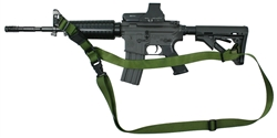 M-4A1 With Magpul Collapsible Stock CST 3 Point Tactical Sling