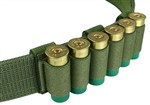 "Belt Mounted 6 rd. Shotshell Carrier - Fits 2"" Duty & Tactical Belts"