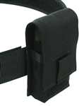 "Belt Mounted Single 20 rd. 5.56mm Flapped Magazine Pouch - Fits 2"" Duty & Tactical Belts"