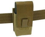 "Belt Mounted Single 20 rd. 7.62NATO Flapped Magazine Pouch - Fits 2"" Duty & Tactical Belts"