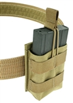 "Belt Mounted Single 20 rd. 7.62NATO Rapid Reload Magazine Pouch - Fits 2"" Duty & Tactical Belts"