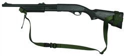 "Remington 870 With Hogue 12"" LOP Stock Raptor 2 Point Tactical Sling"