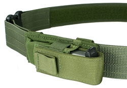 Belt Mounted Single Universal Pistol Mag Pouch - Cross Draw