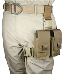 ASG Series 20 rd 7.62NATO 2 Magazine Tactical Thigh Rig