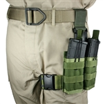 30 rd 5.56mm 2 Magazine Rapid Reload Tactical Thigh Rig