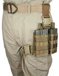20 rd. 7.62NATO 2 Magazine Rapid Reload Tactical Thigh Rig