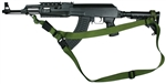AK-47 With M-4 Type Stock SOP 3 Point Tactical Sling