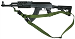 AK-47 With Magpul M-4 Type Stock SOP 3 Point Tactical Sling