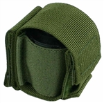 "Belt Mounted Speedloader Pouch - Safariland Comp II - 6 shot S&W K / L Frame / Ruger GP100 - Fits 2"" Pants Belts"