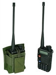 Baofeng UV-5R / BF-F8HP With Standard Length Battery Belt Mounted Radio Pouch