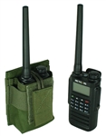 Retevis RT87 With Extended Length Battery Belt Mounted Radio Pouch