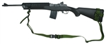 Ruger Mini-14 / 30 With Amega Ranges Handguard And Sling Mount Raptor 2 Point Sling