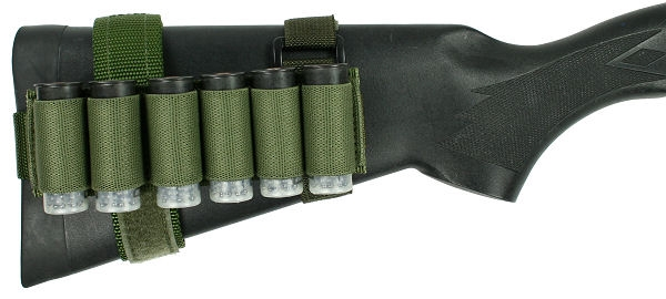 Benelli M1/M2/M3 6 round 12 gauge Buttstock Shell Holder With Rear Adapter