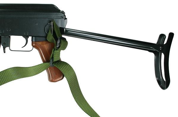 AK-47 with Folding Stock CQB 3 Point Sling