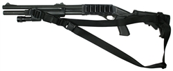 Mossberg 590 With M-4 Stock SOP Sling