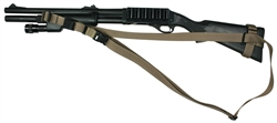 "Remington 870 With Hogue 12"" LOP Stock CST 3 Point Tactical Sling"