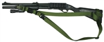 Remington 870 with Hogue 12 LOP Stock SOP 3 Point Tactical Sling