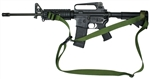 M-4A1 CQB 3 Point Sling With Rail Mount Swivel Combo