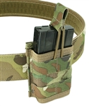 "Belt Mounted Single 20 rd. 5.56mm Rapid Reload Magazine Pouch - Fits 2"" Duty & Tactical Belts"