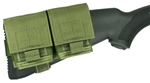 2/10 Mini-14/30 Buttstock Mag Pouch - Holds (2) 10 round Magazines - Rear Adapter Provided