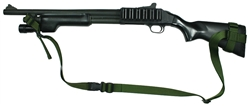 "Mossberg 590 With Hogue 12"" LOP Stock Raptor 2 Point Tactical Sling"