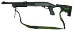 Mossberg 500 With M-4 Stock Raptor 2 Point Tactical Sling