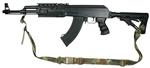 AK-47 with Magpul M-4 Type Stock Recon 2 Point Tactical Sling