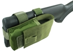 Ruger Mini-30 Buttstock Magazine Pouch Holds (1) 20rd. 7.62x39mm Mag Rear Adapter Provided